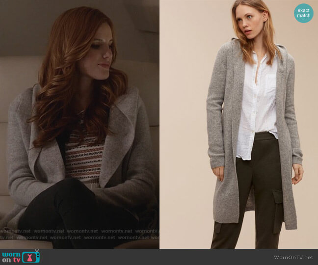 Ammonius Sweater by Community worn by Bella Thorne on Famous in Love