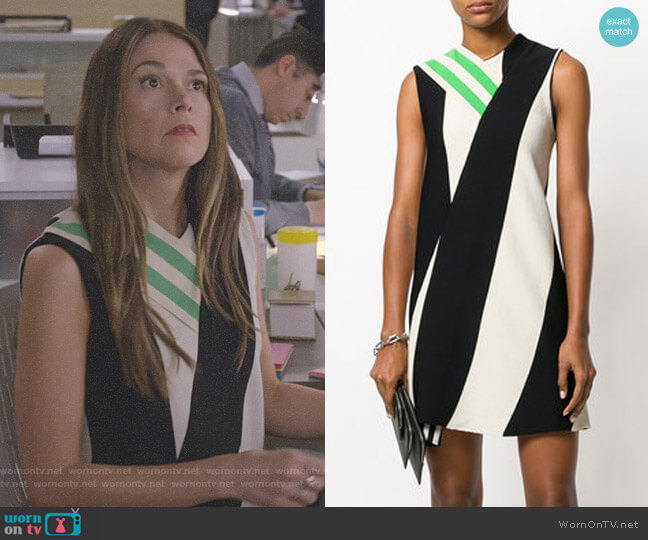Asymmetric Paneled Dress by Calvin Klein 205W39NYC  worn by Liza Miller (Sutton Foster) on Younger