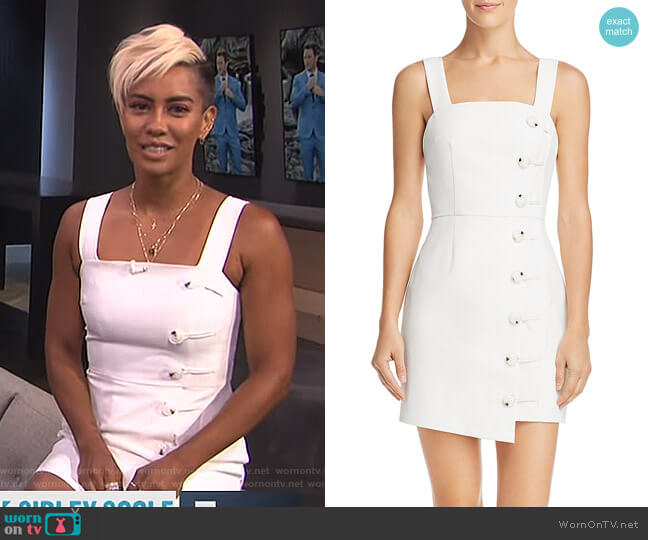 'Mila' Mini Dress by Finders Keepers worn by Sibley Scoles  on E! News