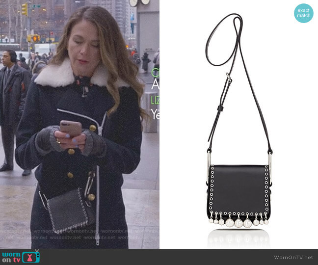 'Moona' Shoulder Bag by Isabel Marant worn by Liza Miller (Sutton Foster) on Younger