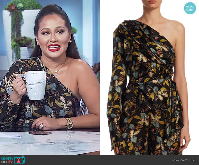 Ava Floral Top by Nicholas worn by Adrienne Houghton  on The Real
