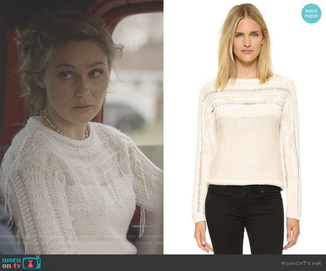 'Jessica' Sweater by Ramy Brook worn by Scarlett O'Connor (Clare Bowen) on Nashville