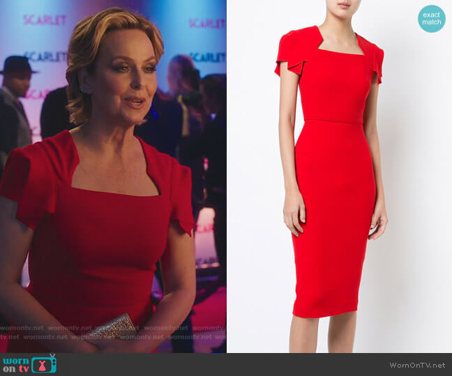 Royston Dress by Roland Mouret worn by Melora Hardin on The Bold Type