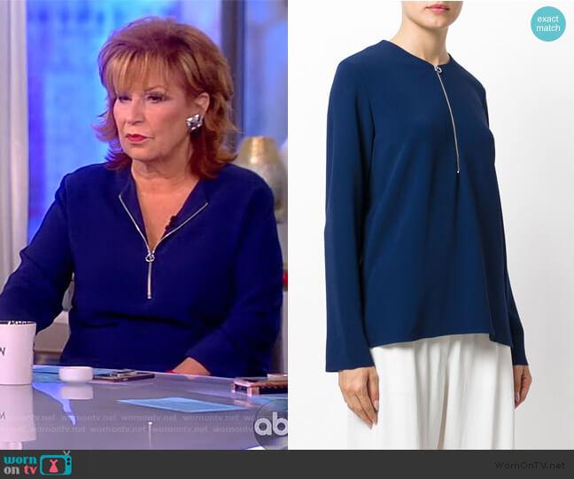 Arlesa blouse by Stella McCartney worn by Joy Behar  on The View