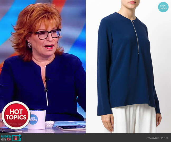 Arlesa blouse by Stella McCartney worn by Joy Behar on The View