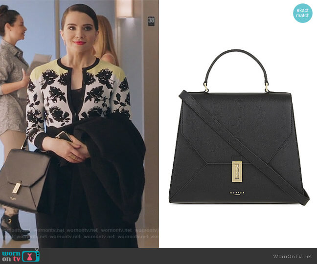 Ellice Top Handle Satchel by Ted Baker worn by Katie Stevens on The Bold Type