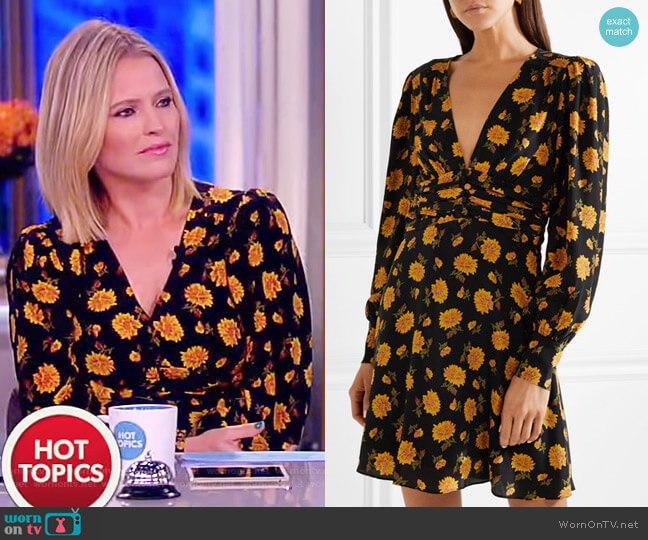 Marion Dress by Veronica Beard worn by Sara Haines  on The View