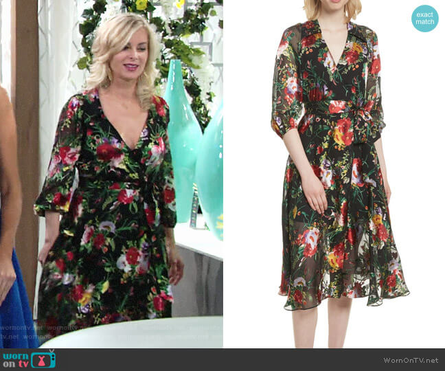Alice + Olivia Abney Dress worn by Eileen Davidson on The Young & the Restless