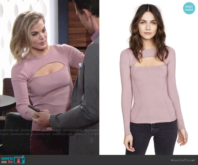 Cushnie et Ochs Devera Top worn by Phyllis Newman (Gina Tognoni) on The Young & the Restless