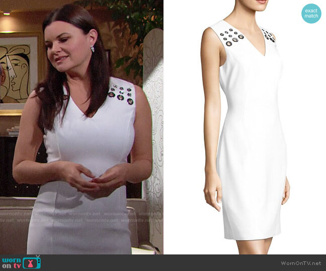 Elie Tahari Monica Dress worn by Heather Tom on The Bold & the Beautiful