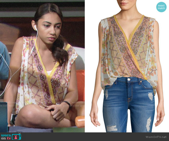 Free People Havana Top worn by Camryn Hamm on The Young & the Restless