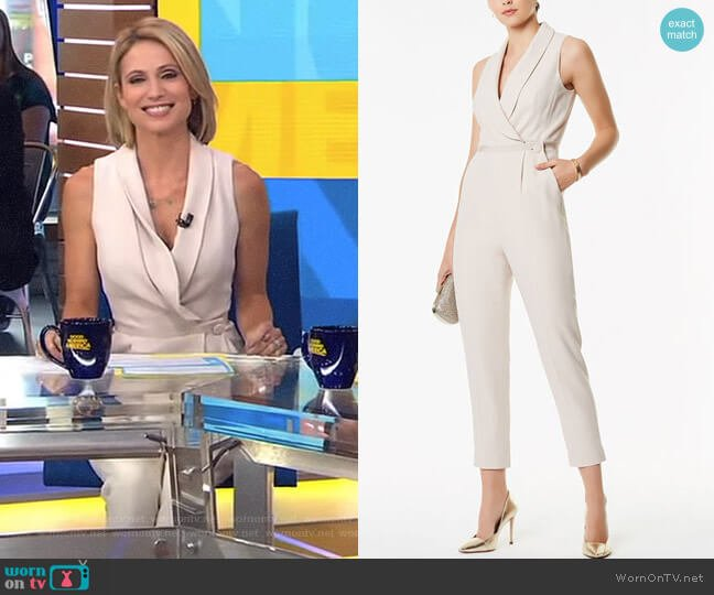 Tailored Jumpsuit by Karen Millen worn by Amy Robach  on Good Morning America