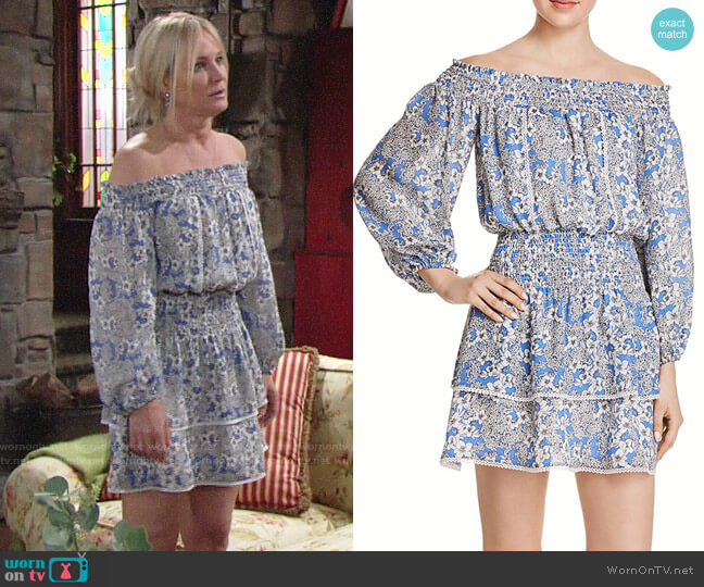 Parker Kara Dress worn by Sharon Collins (Sharon Case) on The Young & the Restless