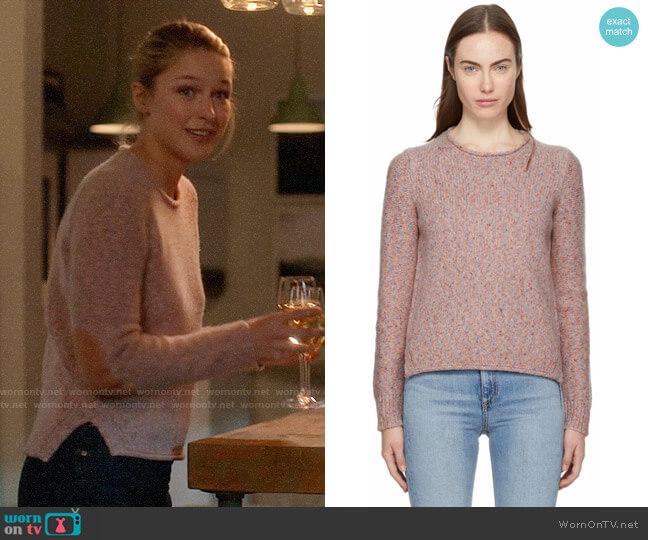 Rag & Bone Francie Sweater worn by Kara Danvers (Melissa Benoist) on Supergirl
