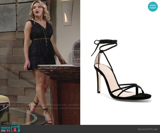 Raye Emerson Heel worn by Summer Newman (Hunter King) on The Young & the Restless