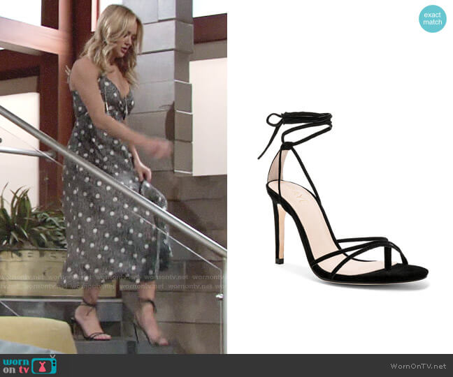 Raye Emerson Heel worn by Hunter King on The Young & the Restless