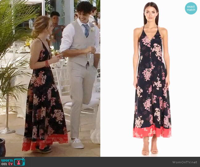 Rebecca Taylor Phlox Maxi Dress worn by Emma on The Fosters