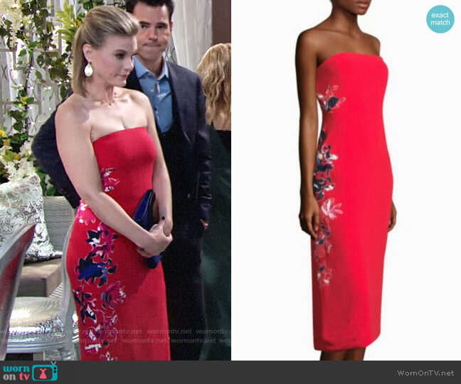 Tanya Taylor Meredith Dress worn by Gina Tognoni on The Young & the Restless