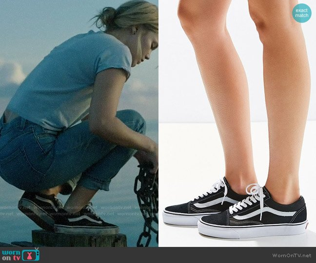 Vans Old Skool Sneakers worn by Tandy Bowen (Olivia Holt) on Cloak & Dagger