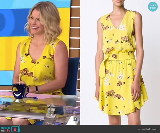 Hadley Dress by ALC worn by Sara Haines on Good Morning America