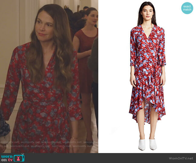 Lorna Dress by Alexis worn by Liza Miller (Sutton Foster) on Younger