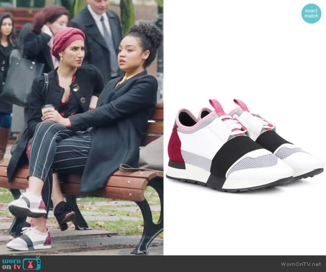 Race Runner sneakers by Balenciaga worn by Kat Edison (Aisha Dee) on The Bold Type