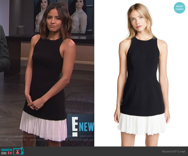 Catriona Dress by Cinq a Sept worn by Erin Lim  on E! News