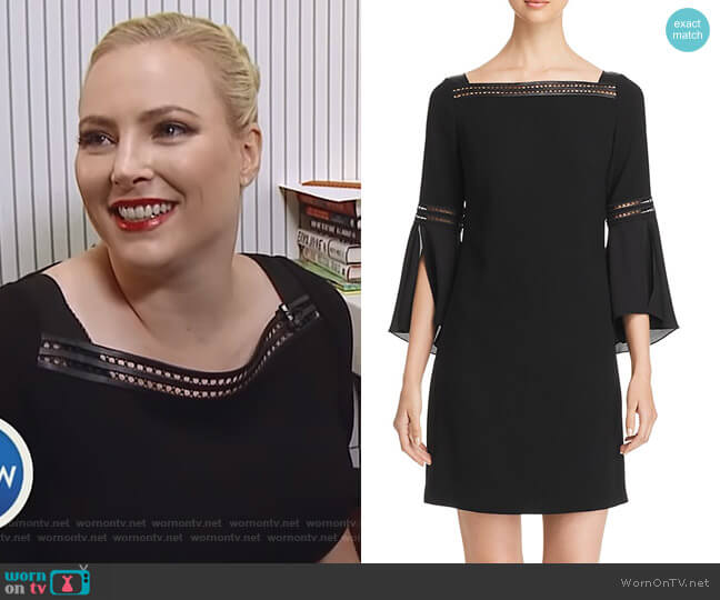 Trans 18 Esmarella Bell-Sleeve Sheath Dress by Elie Tahari worn by Meghan McCain  on The View