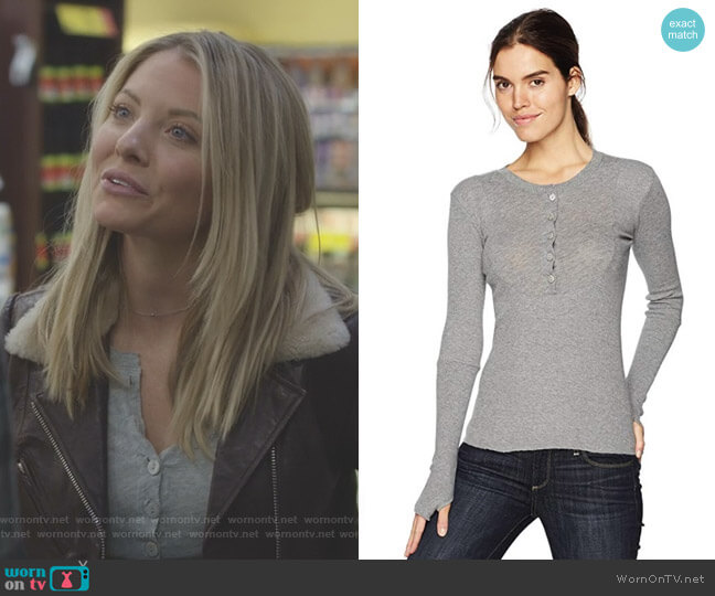 Cashmere Top by Enza Costa worn by Kaitlin Doubleday on Nashville