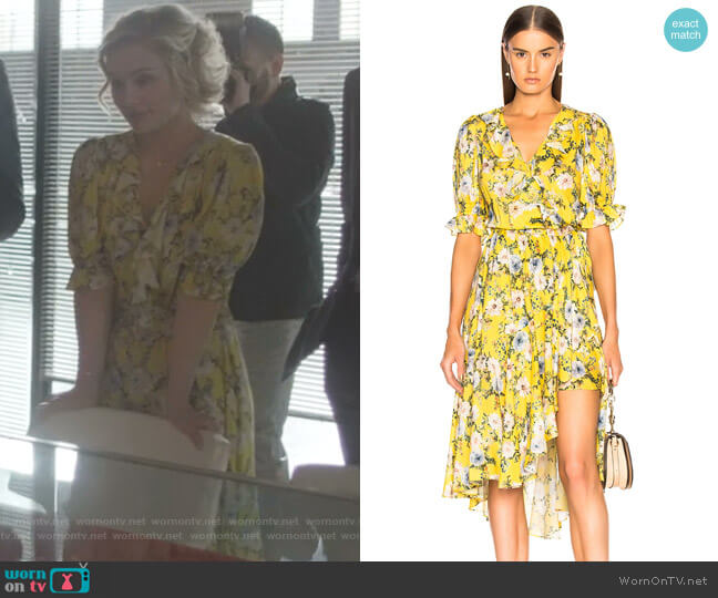 Cha Cha Wrap Dress by Icons worn by Clare Bowen on Nashville