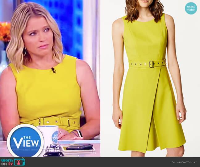 Wrap Mini Dress by Karen Millen worn by Sara Haines  on The View