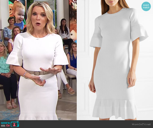 Ribbed-knit dress by Michael Michael Kors worn by Megyn Kelly  on Today