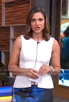 Paula Faris Outfits on Good Morning America | Paula Faris