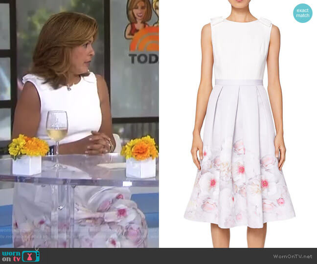Gilith Chelsea Dress by Ted Baker worn by Hoda Kotb  on Today