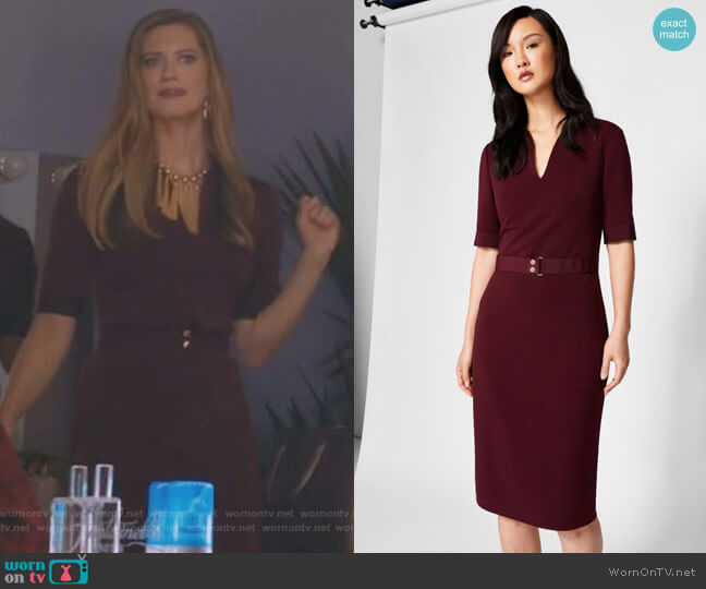 Jesabil Dress by Ted Baker worn by Sydney (Heather Doerksen) on Take Two