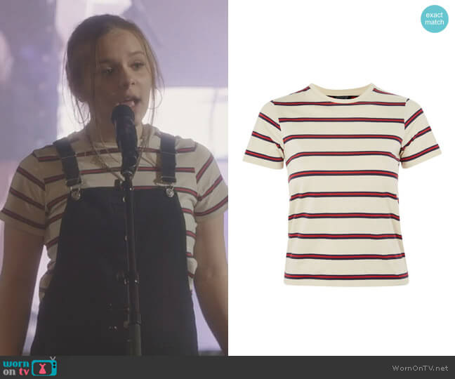 Seventies Striped T-Shirt by Topshop worn by Daphne Conrad (Maisy Stella) on Nashville