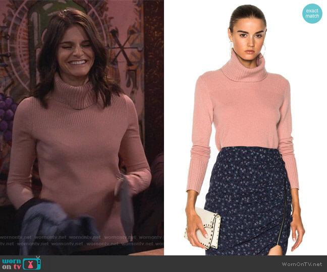 Asa Turtleneck Sweater by Veronica Beard worn by Leslie Curry (Lindsey Kraft) on Living Biblically