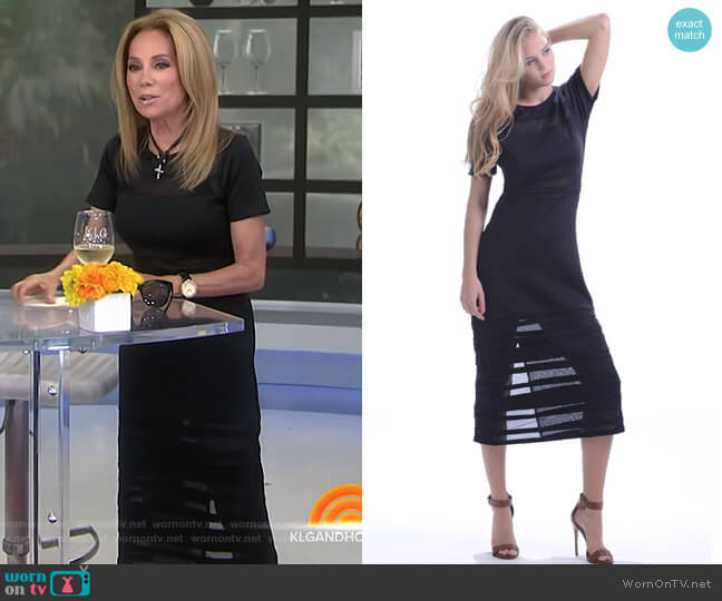 Elle Dress by Walker and Wade worn by Kathie Lee Gifford (Kathie Lee Gifford) on Today