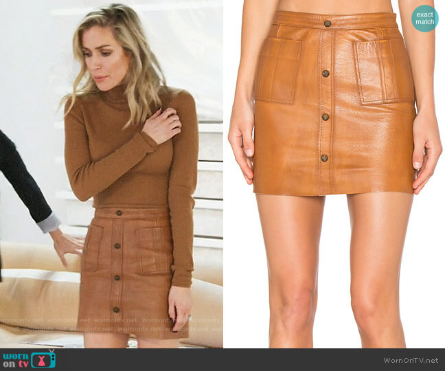 Aje Shrimpton Skirt worn by Kristin Cavallari on Very Cavallari