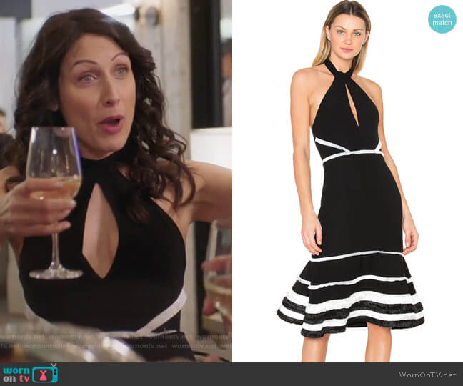 Doriann Dress by Alexis worn by Abby McCarthy (Lisa Edelstein) on GG2D