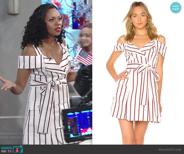 Alexis Edrea Dress worn by Hilary Curtis (Mishael Morgan) on The Young & the Restless