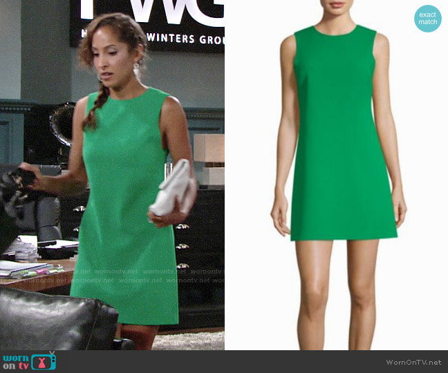Alice + Olivia Coley Dress worn by Lily Winters (Christel Khalil) on The Young & the Restless