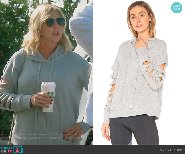 Slay Hoodie by Alo worn by Vicki Gunvalson  on The Real Housewives of Orange County