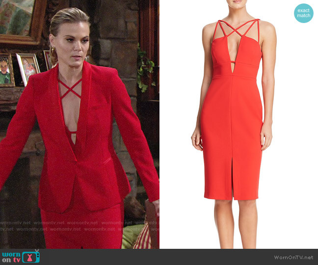 Bcbgmaxazria Sedonia Dress worn by Gina Tognoni on The Young & the Restless