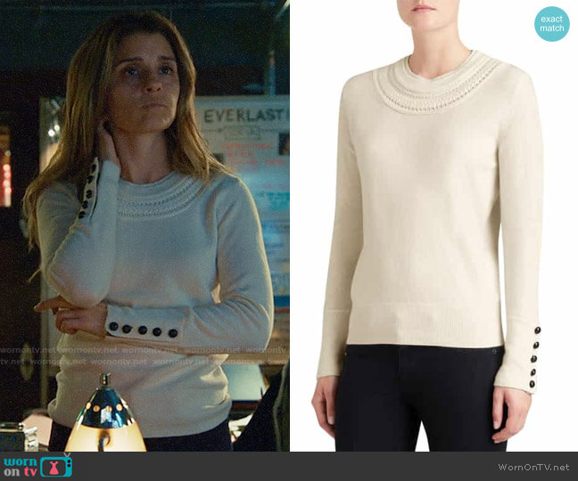 Burberry Carapelle Sweater worn by Rachel Goldberg (Shiri Appleby) on UnReal