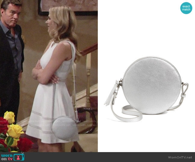 Chelsea28 Cassie Faux Leather Crossbody Bag worn by Hunter King on The Young & the Restless