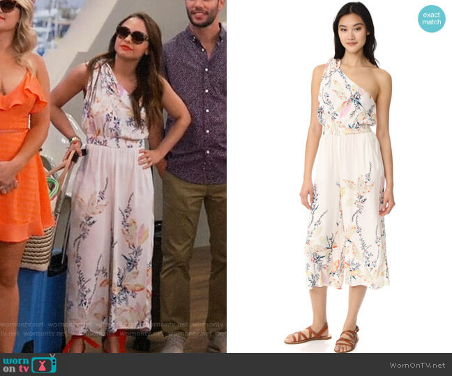 Free People Island Jumpsuit worn by Sofia Rodriguez (Aimee Carrero) on Young & Hungry
