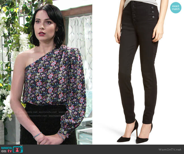 J Brand Natasha Jeans worn by Cait Fairbanks on The Young & the Restless