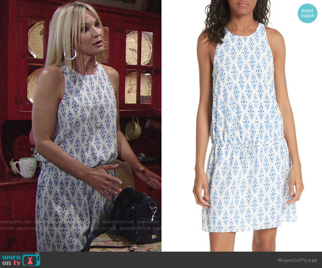 Joie Diega Dress worn by Sharon Case on The Young & the Restless