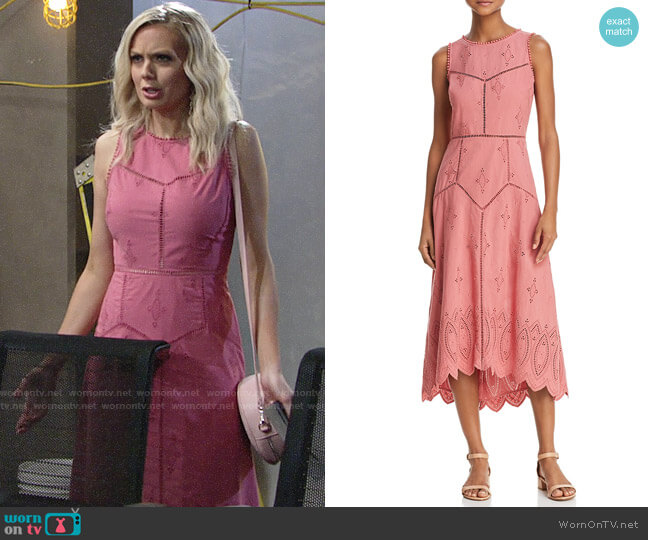 Joie Halone Dress worn by Melissa Ordway on The Young & the Restless